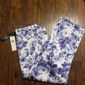 Ralph Lauren Floral Dress Pants